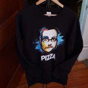 🍕🍕Fun Pizza Sweatshirt size Small🍕🍕